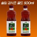 광야식품 솔잎감식초 골드 500ml[1개]