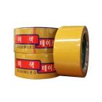 금성케이엔티 불투명 박스 테이프 50mm x 40m[1개]