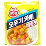 오뚜기 카레 매운맛 1kg[1개]