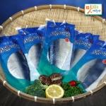 이제주섬영어조합법인 이제주섬 맛있는 제주秋 고등어살 대 10~12팩[2kg]