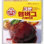 오뚜기 3분 햄버그 스테이크 140g[12개]