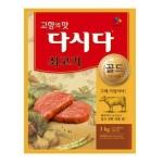 CJ제일제당 쇠고기 다시다 골드 1kg[1개]
