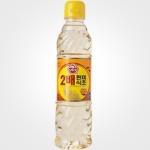 오뚜기 2배 현미식초 500ml[24개]