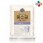 CJ제일제당 백설 꽃소금 3kg[1개]
