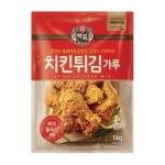 CJ제일제당 백설 치킨 튀김가루 1kg[1개]