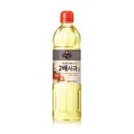 CJ제일제당 백설 2배 사과식초 500ml[1개]