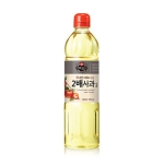 CJ제일제당 백설 2배 사과식초 900ml[1개]