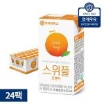 스위플 오렌지맛 200ml[24팩]