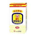 오뚜기 고소한 골드 마요네즈 1kg[1개]