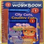 RandomHouseTrade Step into Reading 1 : City Cats, Country Cats (Book+CD+Workbook)