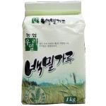 한국우리밀농업협동조합 우리밀농협 백밀가루 1kg[1개]