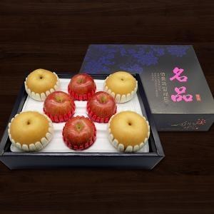 다농이네 신선한 사과+배 선물세트 3호[7kg,1세트]