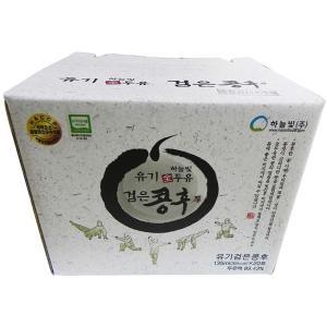 하늘빛 유기 전두유 콩후 검은콩 담백한맛 파우치 135ml[40개]