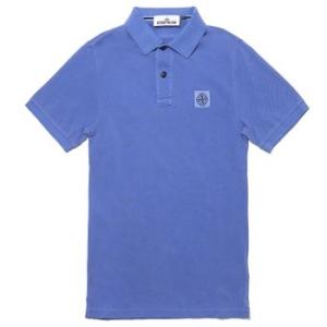 스톤아일랜드 남성 PK 반팔 슬림핏 티셔츠_621522S67 V0088