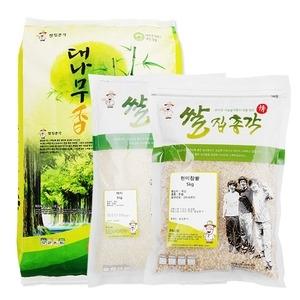 쌀집총각 대나무향미 백미 10kg + 백미 5kg + 현미찹쌀 5kg
