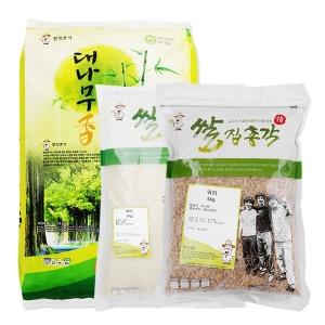 쌀집총각 대나무향미 백미 10kg + 백미 5kg + 귀리 5kg