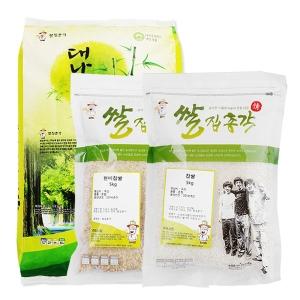 쌀집총각 대나무향미 백미 10kg + 현미찹쌀 5kg + 찹쌀 5kg
