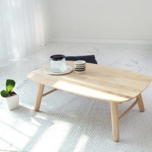 벤트리 원목 라운디시 접이식 테이블[95x60cm]