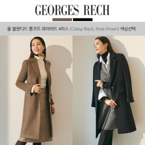 d253aad0795 조르쥬레쉬 18FW 울 코트 컬렉션 4피스' 최저가 검색 - 에누리가격비교
