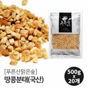 모닝 국산 땅콩 분태 500g[20개]