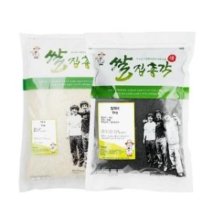 쌀집총각 대나무향미 백미 5kg + 찰흑미 5kg