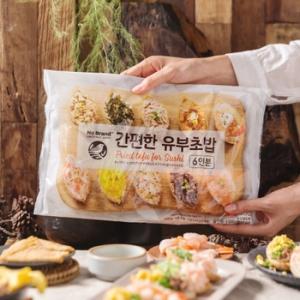 신미씨앤에프 이마트 노브랜드 간편한 유부초밥 540g 1개