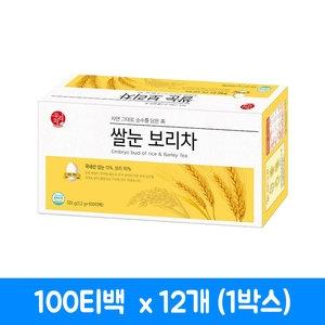 송원식품 쌀눈 보리차 100티백[12개]