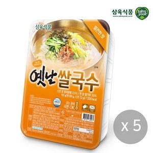 삼육식품 옛날 쌀국수 얼큰한맛 92g[5개]