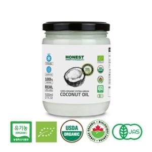 어니스트 유기농 엑스트라버진 코코넛오일 500ml[6개]