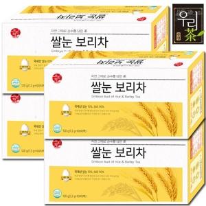 송원식품 쌀눈 보리차 100티백[4개]
