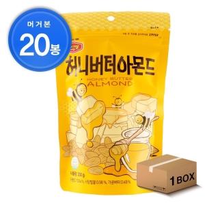 머거본 허니버터 아몬드 200g[20개]