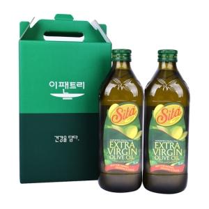 OLEFICI SITA SRL 시타 엑스트라버진 올리브유 1L[2개]