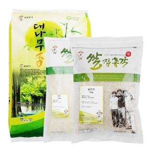 쌀집총각 대나무향미 백미 10kg + 백미 5kg + 쌀보리 5kg