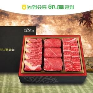 농협유통 하나로클럽 1+등급 명품 냉장 한우 2호[3kg]