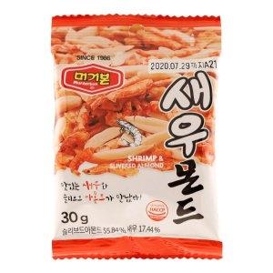 머거본 새우몬드 30g[12개]