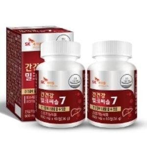 비오팜 간건강 밀크씨슬7 60정[2개]