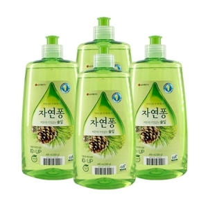 LG생활건강 자연퐁 솔잎 주방세제 500g[4개]