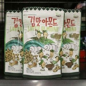 길림양행 김맛 아몬드 210g[4개]
