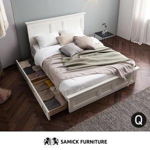 삼익가구 모나코 서랍형 도장 침대 퀸(Q)[스프링]