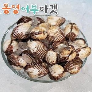 통영어부마켓 당일 채취 벌교 여자만 새꼬막(대)[1kg]