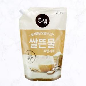 애경 순샘 쌀뜨물 주방세제 리필 1.2L[1개]