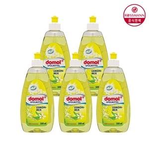 도몰 레몬 믹스 주방세제 500ml[5개]