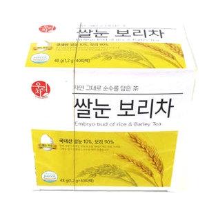 송원식품 쌀눈 보리차 40티백[10개]