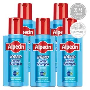 알페신 카페인 샴푸 하이브리드 250ml[5개]