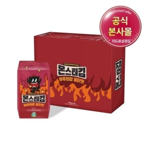 성경식품 지도표성경김 몬스터김 불닭맛 6g[32개]