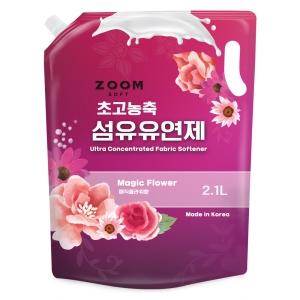 에이치비글로벌 줌 엑스퍼트 초고농축 섬유유연제 리필 2.1L[1개]