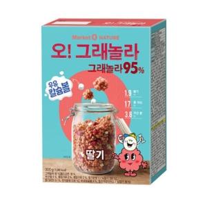 오리온 마켓오 오그래놀라 딸기 300g[1개]