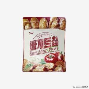 청우식품 바게트칩 토마토앤바질 400g[6개]