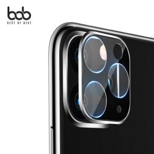 BOB 매직쉴드 카메라렌즈 3D 풀커버 일체형 메탈 유리섬유 보호필름[아이폰11]