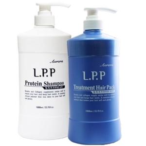 오로라코스메틱 오로라 LPP 트리트먼트 1000ml + 오로라 LPP 프로테인 샴푸 1000ml